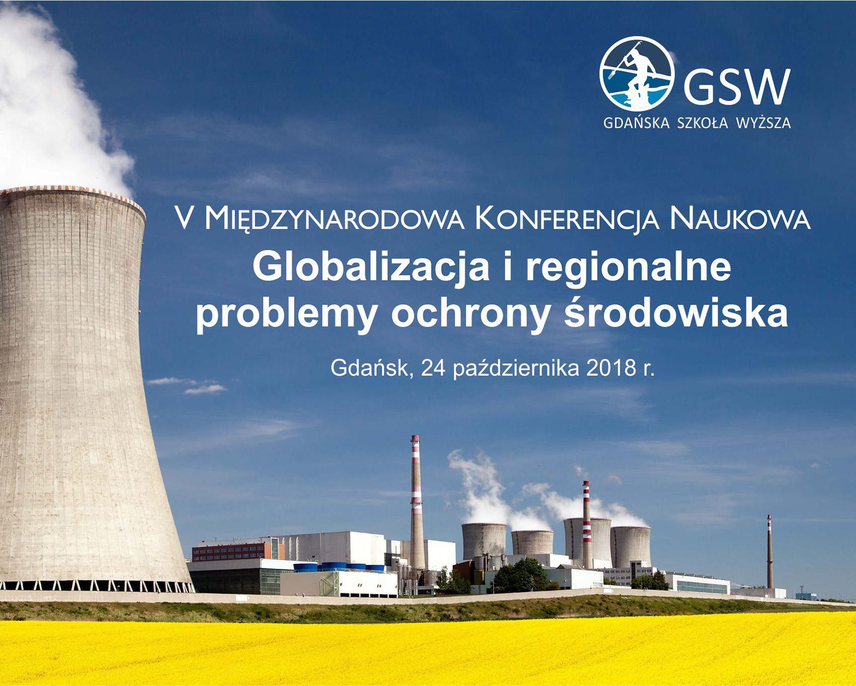 Globalizacja i regionalne problemy ochrony środowiska, 24.10.2018