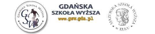 Logo Mazurska Szkoła Wyższa (włączenie do GSW)