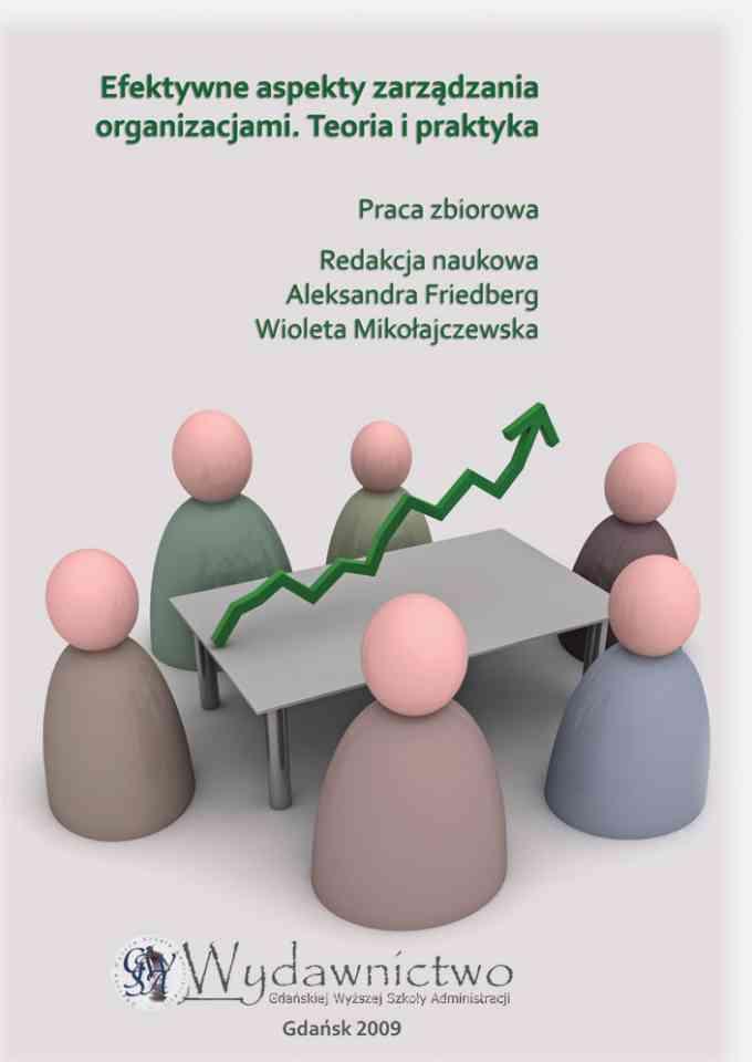 Efektywne aspekty zarządzania - pierwsza strona okładki