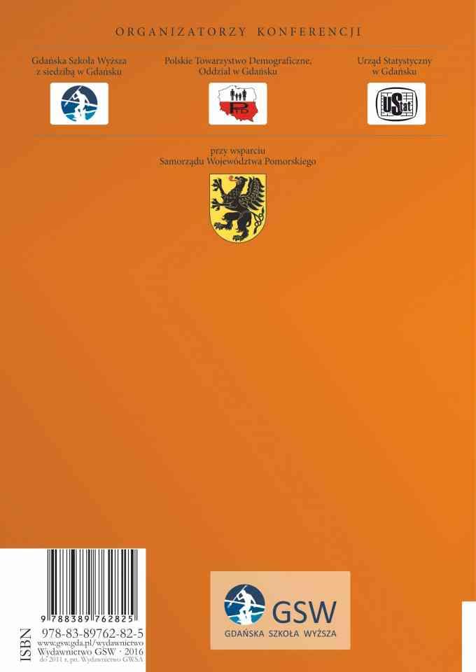 Rozwój demograficzny województwa pomorskiego - ostatnia strona okładki