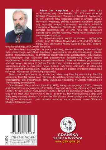 Prywatna własność środków produkcji. Wydanie drugie 2013 - ostatnia strona okładki