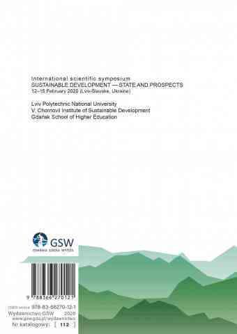 Ostatnia strona okładki (cover) Sustainable development - state and prospects